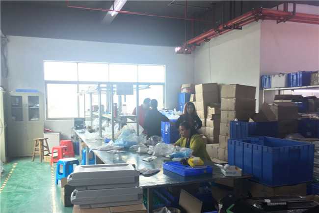 Shenzhen Rong Mei Guang Science And Technology Co., Ltd. factory production line 4