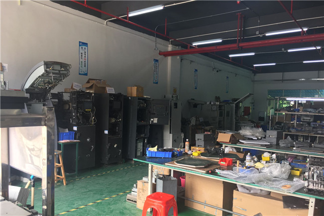 Shenzhen Rong Mei Guang Science And Technology Co., Ltd. factory production line 6