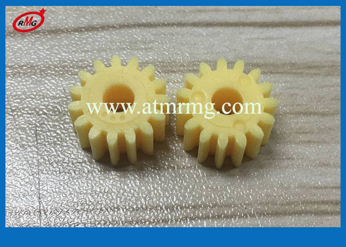Yellow Gear Wincor ATM Parts Wincor Nixdorf 2050 CMD-V4 Clamp 15T ISO9001 Approval