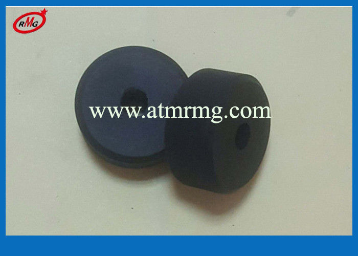 Black Color Wincor ATM Parts Dispenser Module VM3 CCDM Rubber Roller 1750101956-76-2