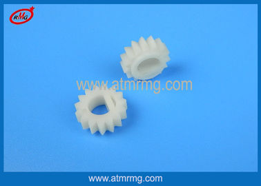 China 4P009166001 Hitachi ATM Parts , WZ-PP Plastic Gear Motor 15T With White Color factory